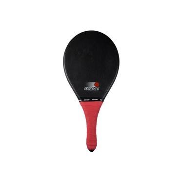 Raquete de Frescobol Carbon Fastball preta ÚNICO
