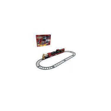 Imagem de Trem Ferrorama com Acessórios Clássico Infantil