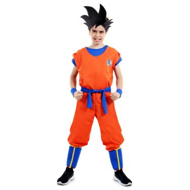 Fantasia Goku Infantil - Dragon Ball Z P