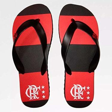 Chinelo Flamengo Infantil Manto 81 27/28
