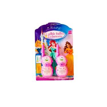 Walkie Talkie Infantil Radio Comunicador de Brinquedo Princesas