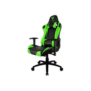 Cadeira Gamer Profissional TGC12 THUNDERX3 Preta/Verde