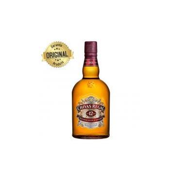 Whisky Escocês 12 Anos Garrafa 1 Litro - Chivas Regal