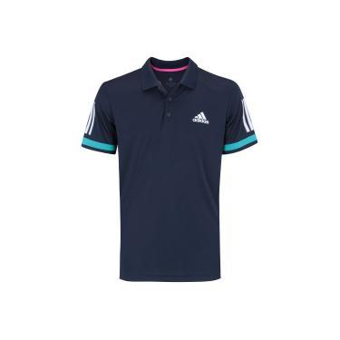 6d00d7db6 Camisa Polo adidas Club 3S - Masculina - AZUL ESCURO adidas