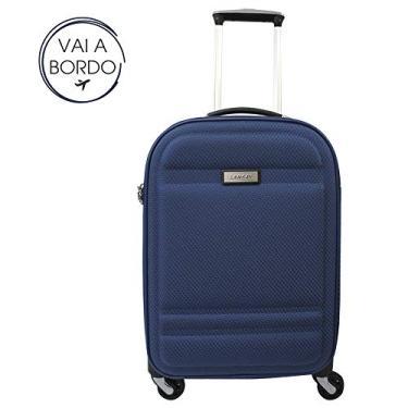 Mala LANSAY São Paulo Lx 19 Tamanho Mala de Bordo Cor Azul