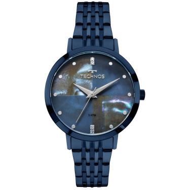 f5fd5d3738f Relógio Feminino Technos Fashion Trend 2036MJH 5A Azul