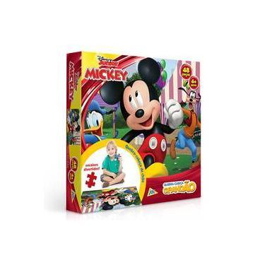 Imagem de Quebra Cabeça Grandão 48 Peças Mickey Disney Toyster
