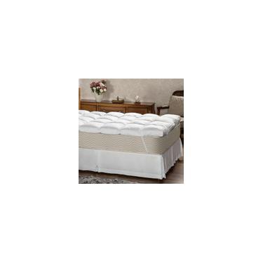 Imagem de Pillow Top Queen 230 Fios Fibra Siliconizada - Plumasul