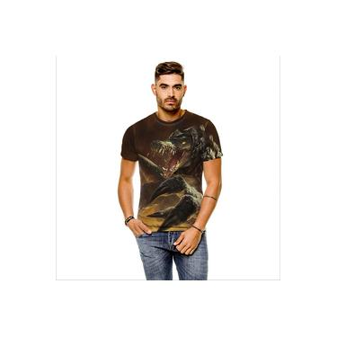 Camiseta League Of Legends Renekton Carniceiro Das Areias Rework Cinza Masculina
