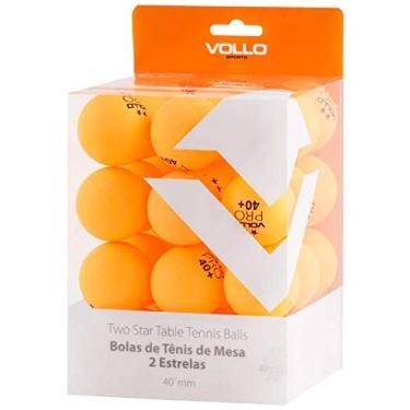 Imagem de Bolas de Tenis de Mesa, Vollo Sports, Laranja