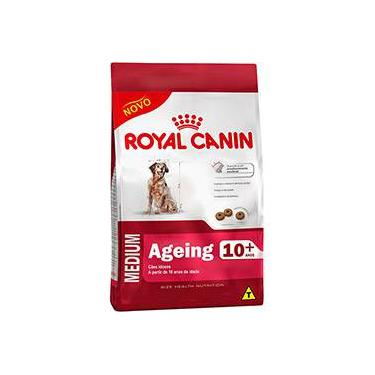Ração Medium Ageing 10+ para Cães Idosos de Raças Médias com 10 Anos ou mais 15kg - Royal Canin