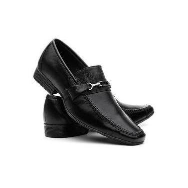 53f8b7e687 Sapato Social Masculino em Couro Legítimo Costura Manual VR