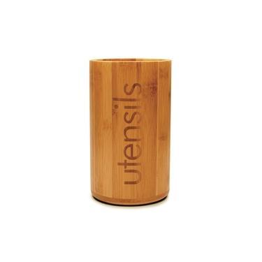 Imagem de Porta Utensílios De Bambu Utensils Suporte Espátulas Yoi