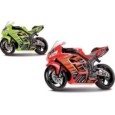 Imagem de Moto Racing Motorcycle Roma 22 cm
