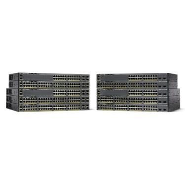 Imagem de Switch Ethernet com 48 portas Cisco Catalyst WS-C2960X-48LPD-L com 370 Watt PoE