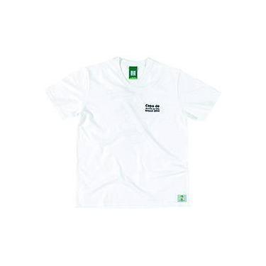 e3ce3cc035 Camiseta 3 Branca Masculina - Copa do Mundo da FIFA 2014 - FIFA