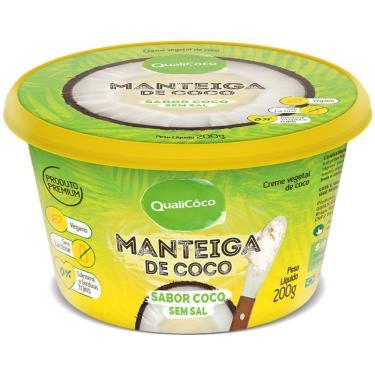 Manteiga de Coco Qualicoco 200g Natural
