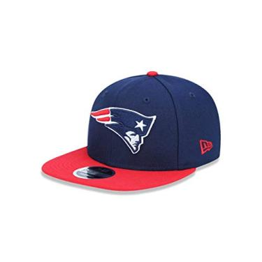 BONÉ NEW ERA 9FIFTY ORIGINAL FIT NFL NEW ENGLAND PATRIOTS MARINHO