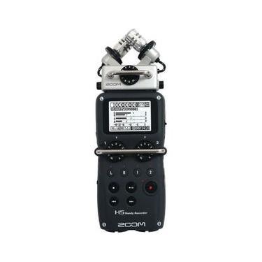 Gravador Digital Zoom H5 Handy Recorder com Sistema de Microfone intercambiáveis X/Y