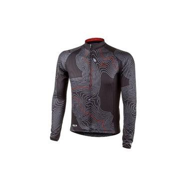 Camisa Bike Speed MTB Ciclismo Manga Longa Mauro Ribeiro Short Cut