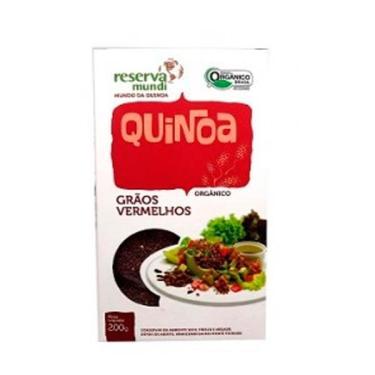 Imagem de Quinoa Vermelha em Grãos Orgânica Mundo da Quinoa 200g