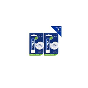 Imagem de Nivea Hidratante Labial Original Care Hidratação Profunda 4,8 g - 2 unidades