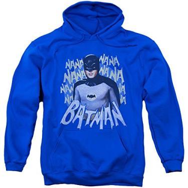 Imagem de Moletom com capuz licenciado com tema do programa de TV do Batman na Na