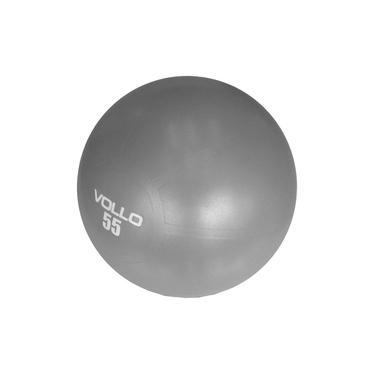Bola Pilates Vollo Anti-burst Res. 300kg C/bomba 55cm