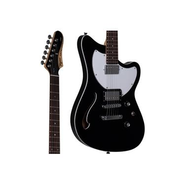 Imagem de Guitarra Semi Acústica Tagima Jet Blues Standard Preta