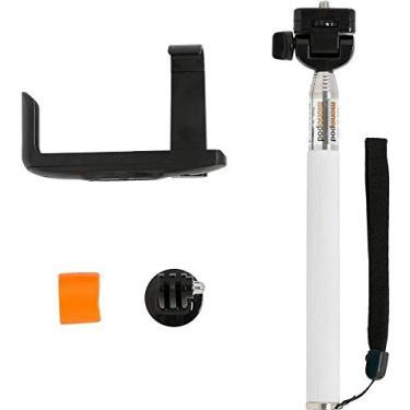 Monopod Driftin bastão com adaptador para GoPro e suporte smartphone Branco DGP-306W