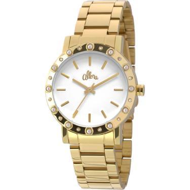 ef36795998c Relógio Feminino Allora Analógico AL2035EZS4B - Dourado