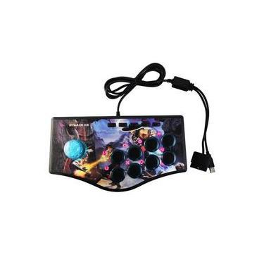 controladores de jogo com fio Arcade Game roqueiro Gamepad para projetor computador ps2