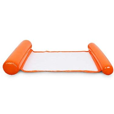 Float Bed, Andoer Cadeira de piscina Cadeira de piscina espreguiçadeira inflável preguiçosa