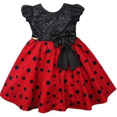 Vestido De Festa Infantil Tamanho 1 ao 3. (1)
