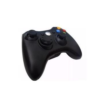 Controle para Xbox 360 Sem Fio Joystick Wireless Usb Pc Notebook