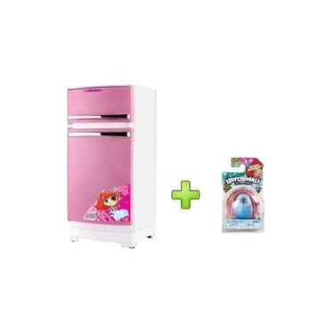 Imagem de Geladeira Magic Toys Branca E Rosa 8051+ Hatchmals Surpresa