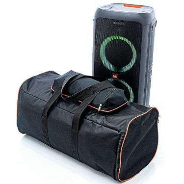 Capa Bolsa Bag Caixa De Som Jbl Partybox 300 Sem Espuma Com Alça de Mão