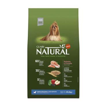Ração Affinity Guabi Natural Salmão e Cevada para Cães Adultos Raças Mini e Pequena - 10,1 Kg