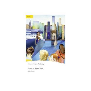 Lost In New York - Level 2 - Pack CD MP3 - Penguin Readers - 2 Ed. - John Escott - 9781408285107