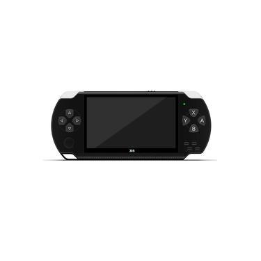Para X6 PSP Handheld Game Console real 8gb Jogo Video Camera