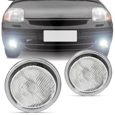 Farol de Milha Renault Clio 2000 2001 2002 Auxiliar Neblina Lado Esquerdo Motorista