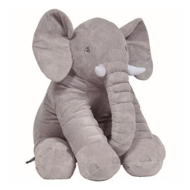 Almofada Elefante Gigante Buba - Cinza