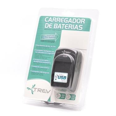 Imagem de Carregador De Bateria Konica Minolta Np-700, Pentax D-Li72, Samsung Slb-0637, Sanyo Db-L30, Trev, Cbl037