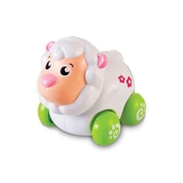 Imagem de Brinquedo Carrinho Infantil Bebê Turminha Animal Ovelha Buba