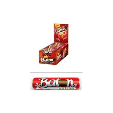 Chocolate Baton Ao Leite 480g C/30