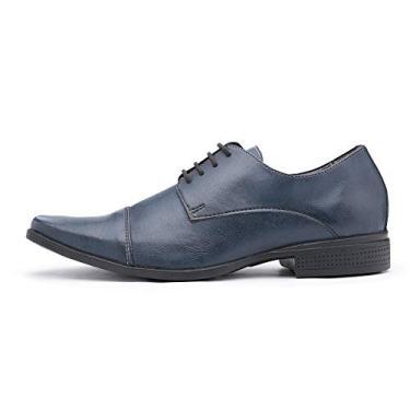Sapato Social Vegano Azul. (44)