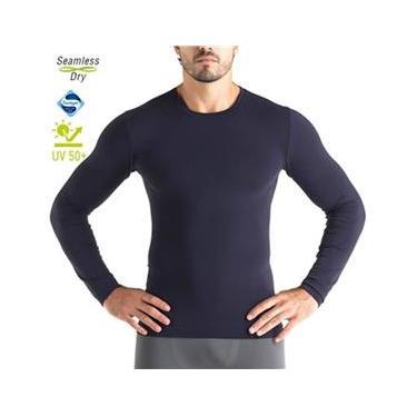 Camiseta Masculina manga Longa Com Proteção UV Lupo Radiação ref.70632 923a7dcae4b93