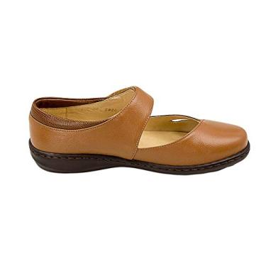 Sapato Opananken Leather Marrom Feminino 37