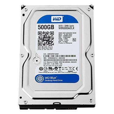 HD 500GB SATA 6Gb/s 32MB WD Blue WD5000AZLX Western Digital