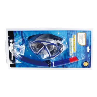 Conjunto Mergulho Infantil Winmax WMB07514 Azul